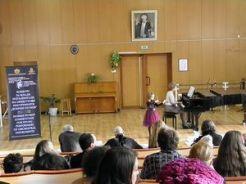 Мария Хубенова, клавирен съпровод Злателина Коларова